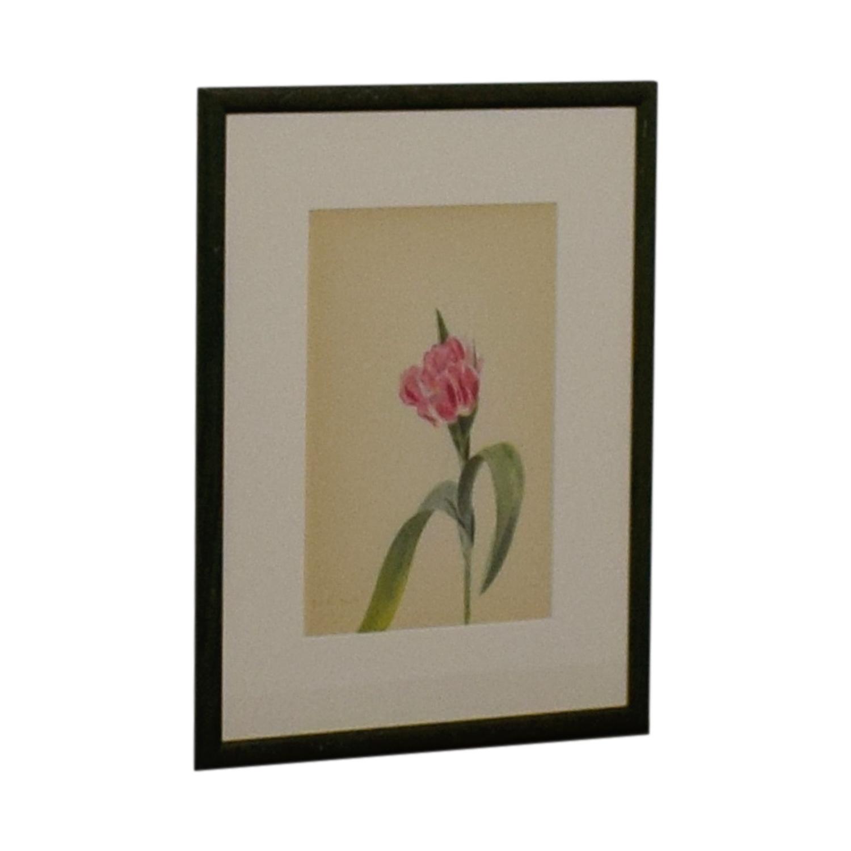 shop Pink Flower Framed Artwork