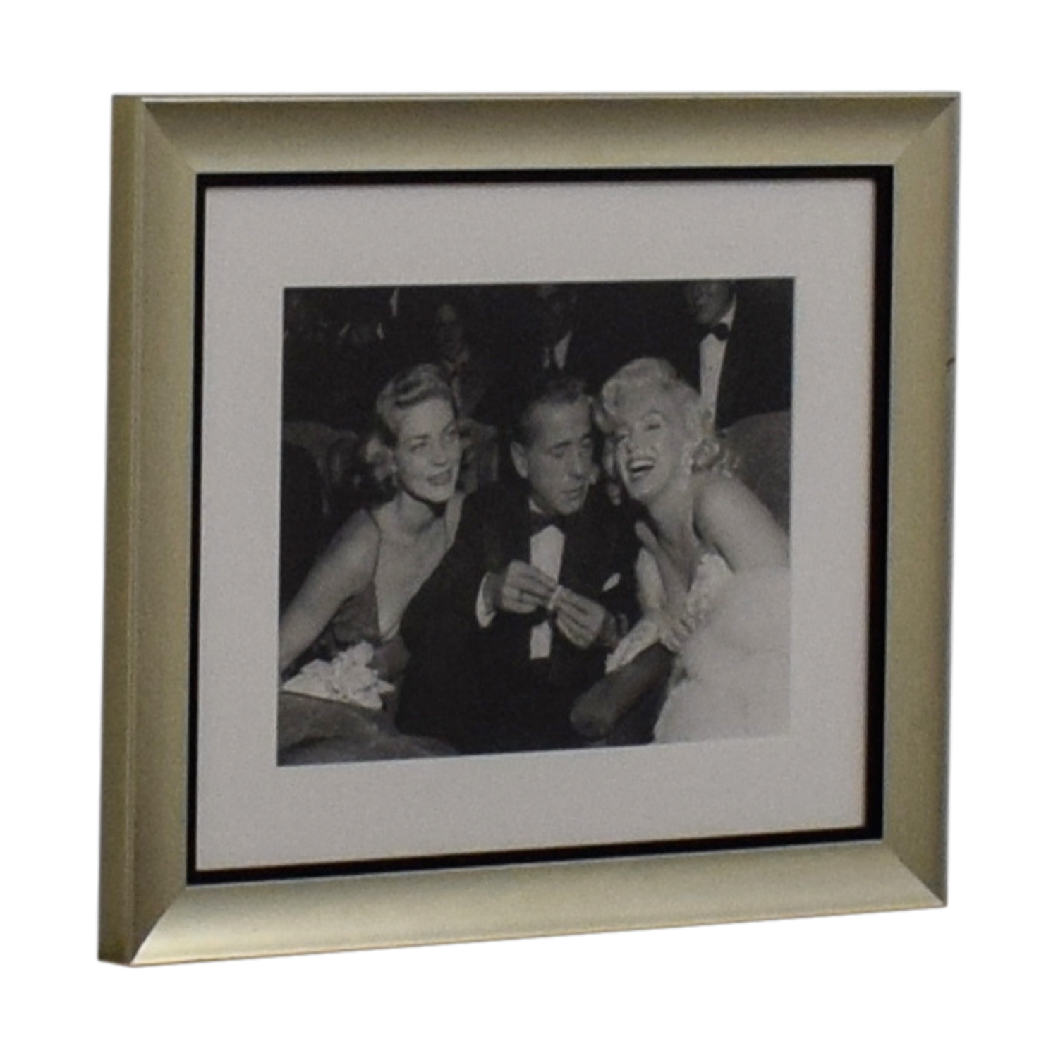 buy Ralph Lauren Marilyn Monroe, Lauren Bacall & Humphrey Bogart Framed Photograph Ralph Lauren Decor