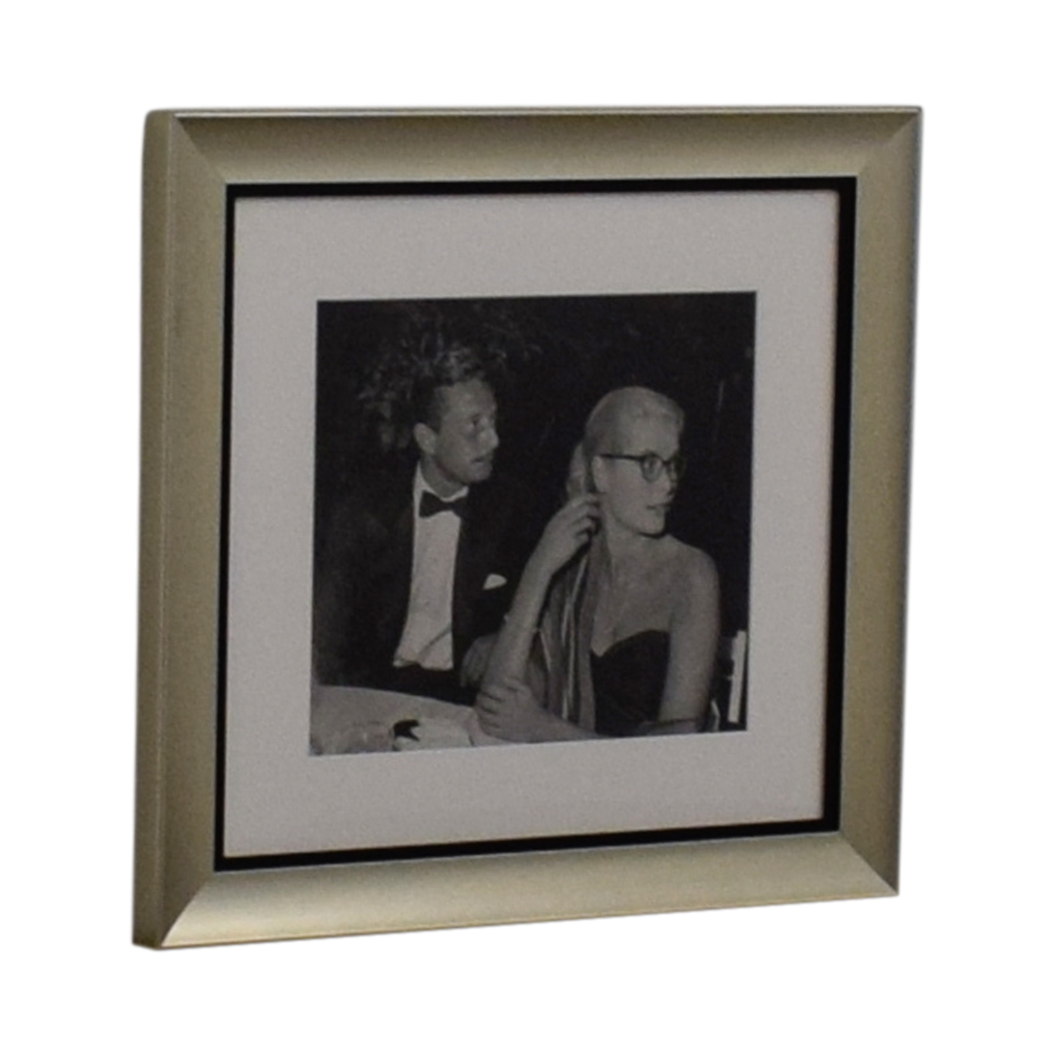 Ralph Lauren Ralph Lauren Grace Kelly and Oleg Cassini Framed Photograph dimensions