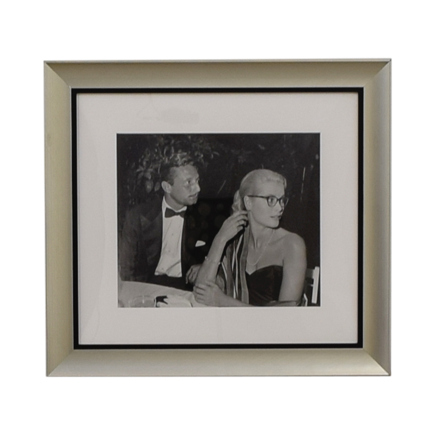 Ralph Lauren Ralph Lauren Grace Kelly and Oleg Cassini Framed Photograph coupon