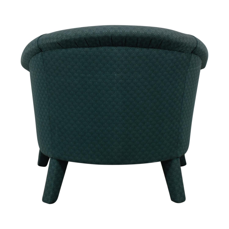 Crate & Barrel Crate & Barrel Green Armchair
