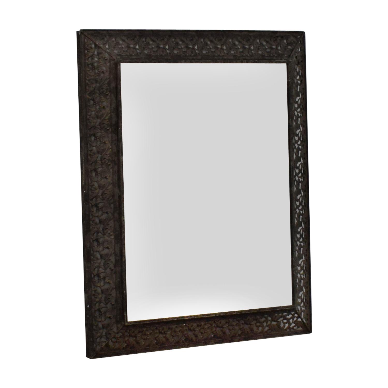 Ornate Metal Wall Mirror discount