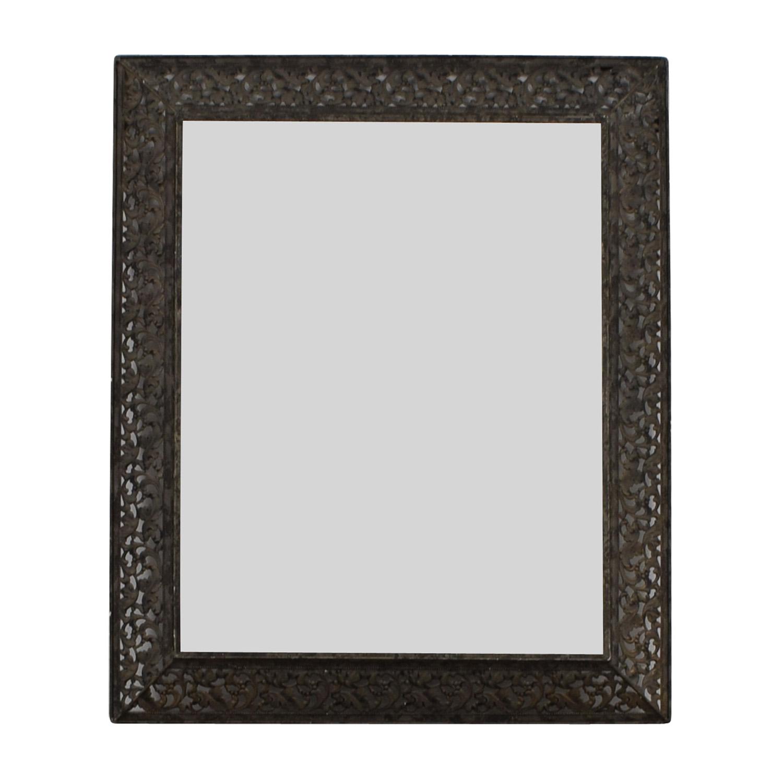 shop  Ornate Metal Wall Mirror online