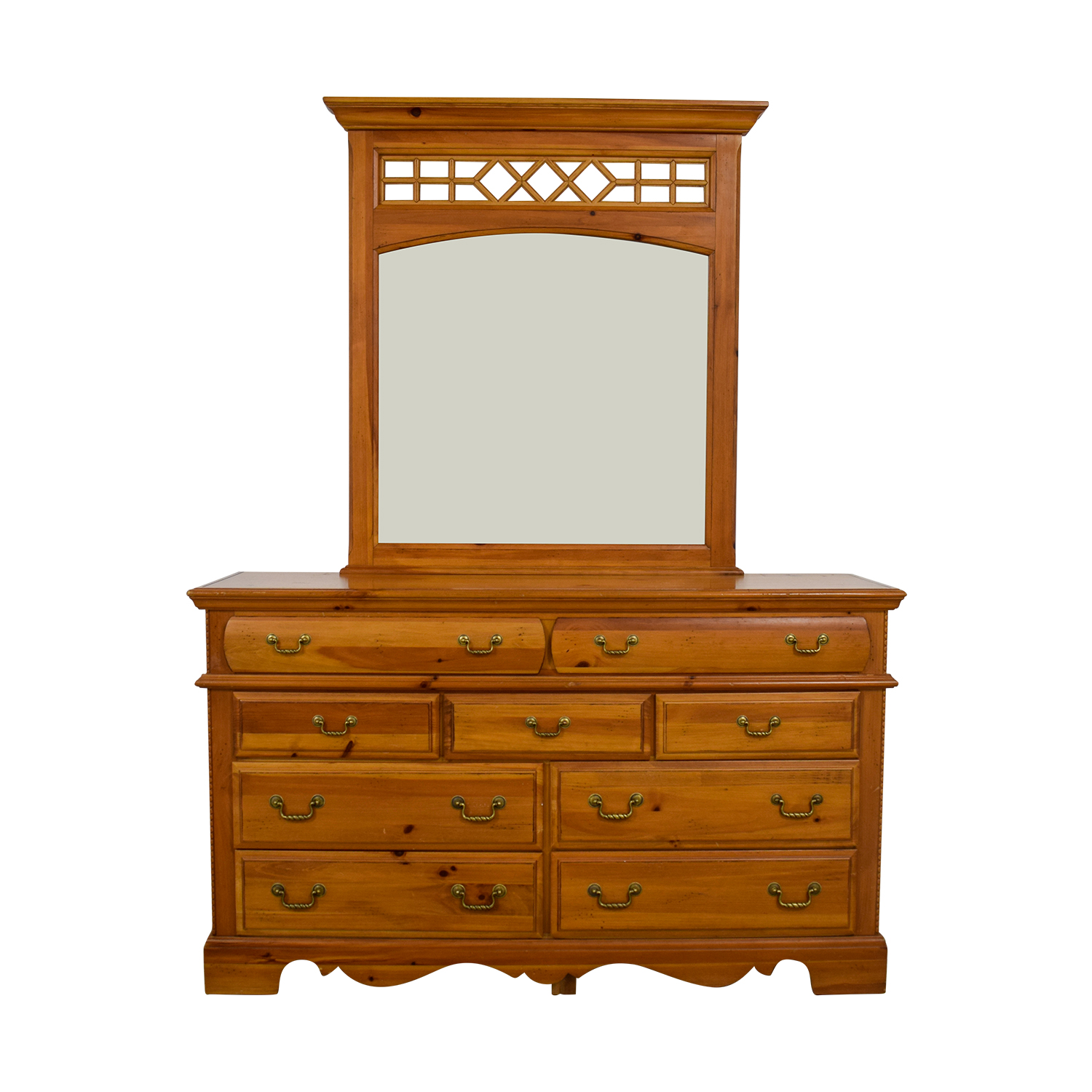 Vaughn Bassett Vaughn Bassett Dresser with Mirror coupon