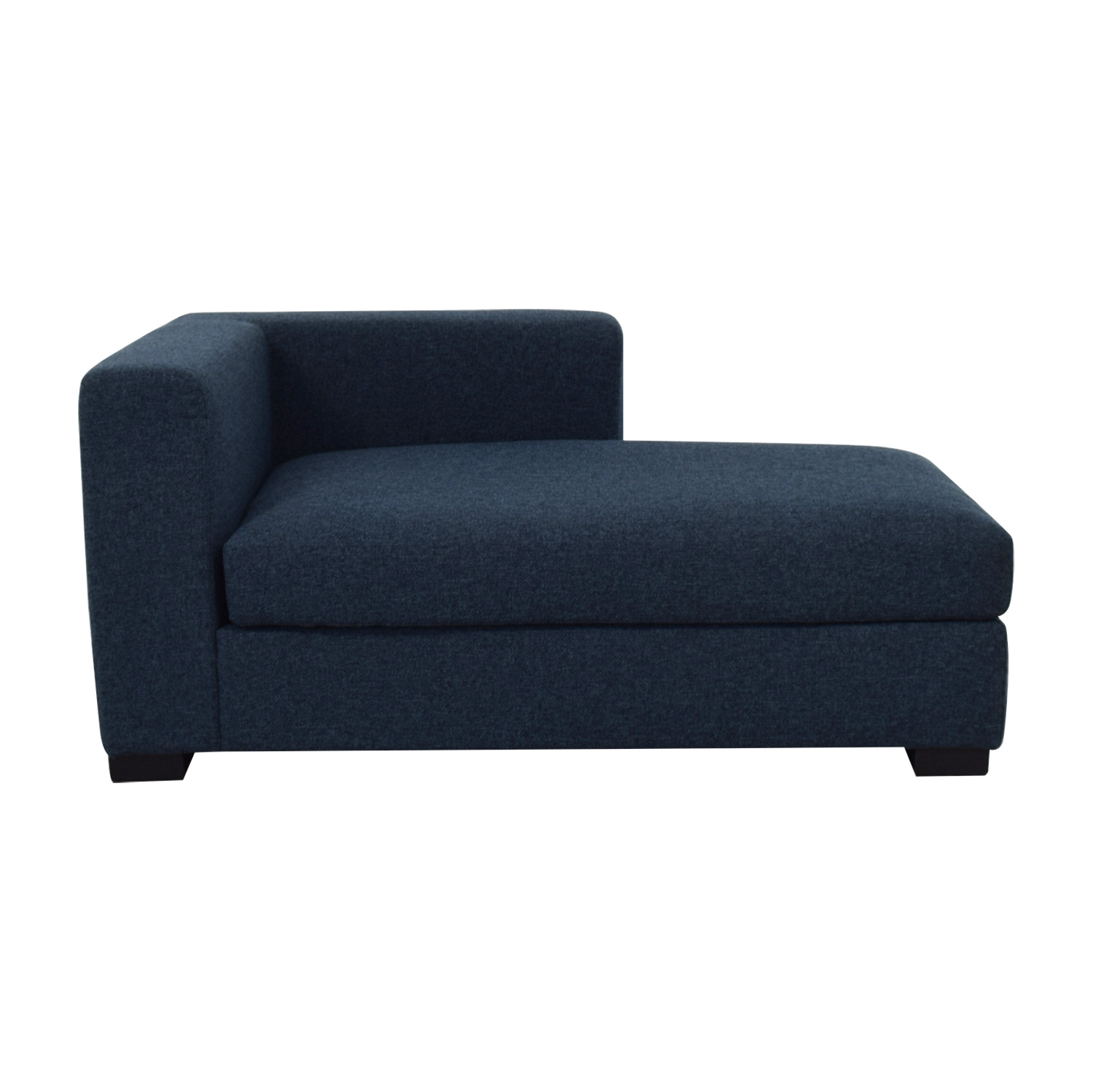 Toby Indigo Right Chaise