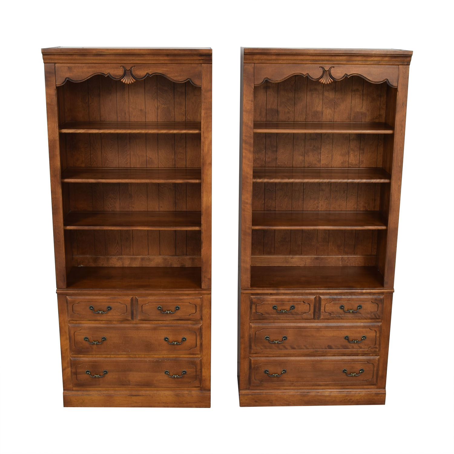 Ethan Allen Ethan Allen Chest with Bookcase Hutch nyc