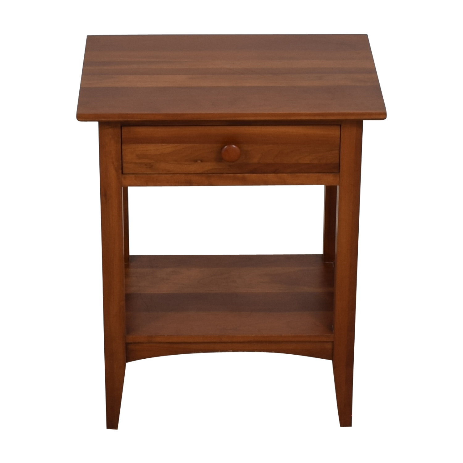Ethan Allen Ethan Allen Single Drawer Wood Nightstand for sale