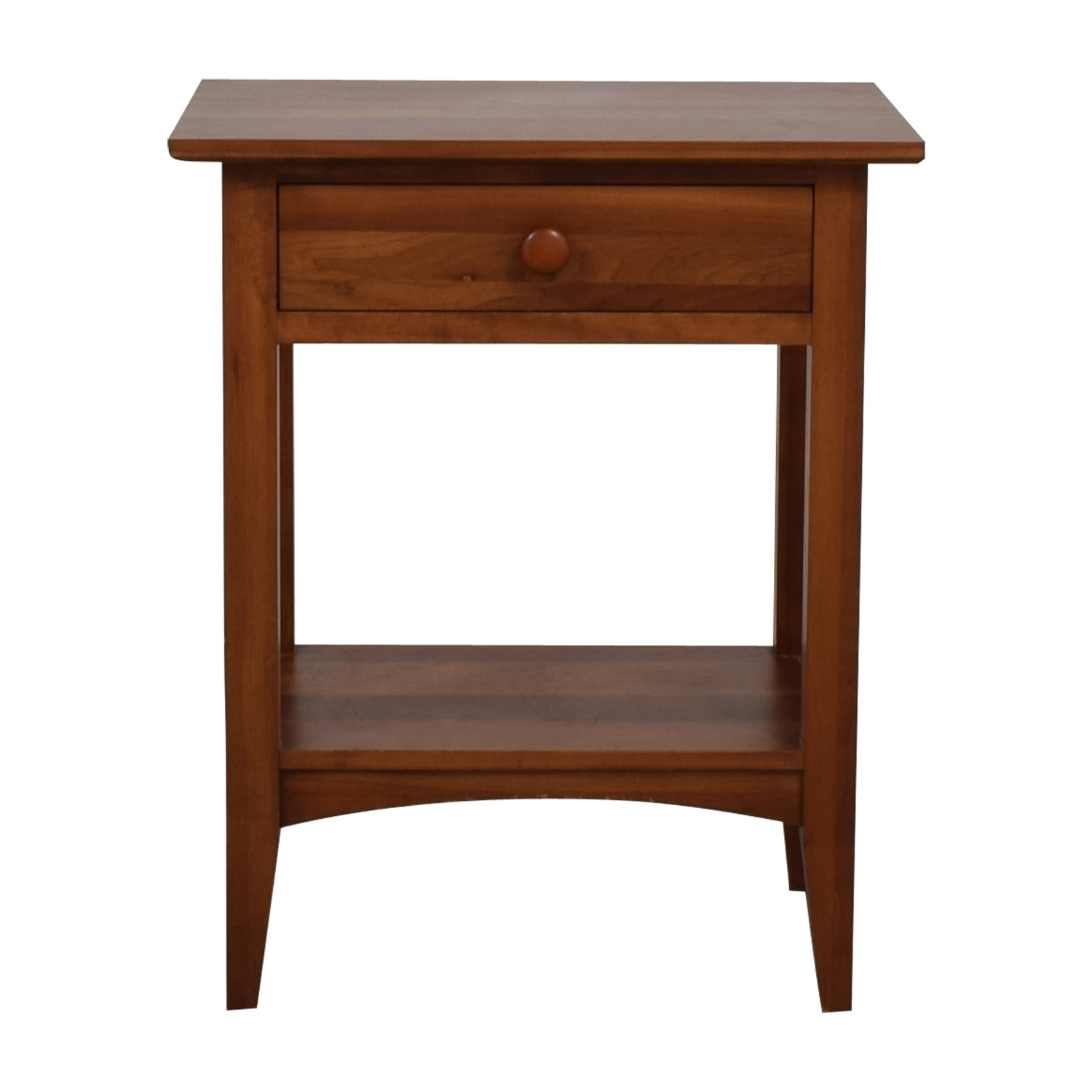 Ethan Allen Ethan Allen Single Drawer Wood Nightstand price