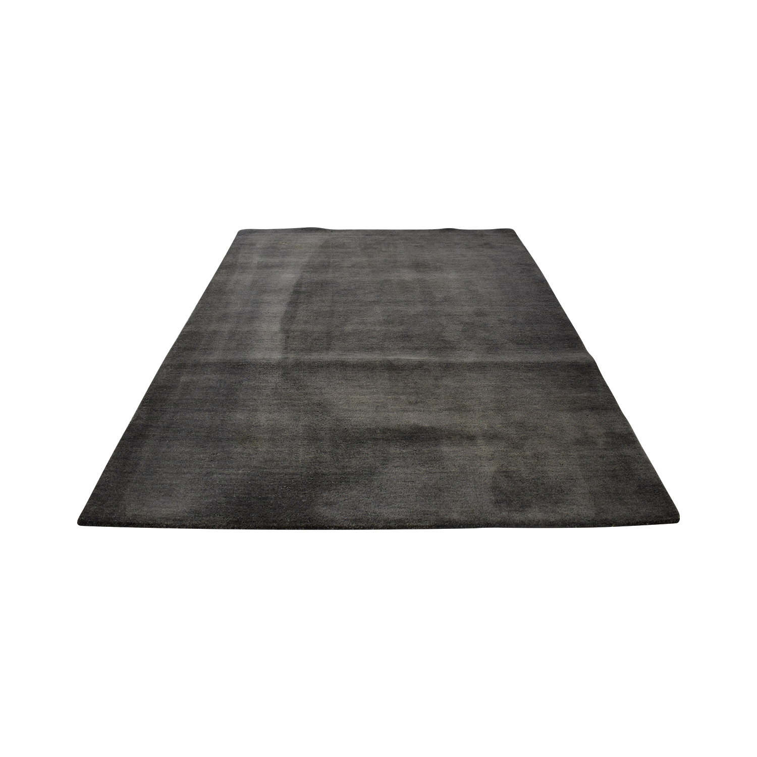 Crate & Barrel Crate & Barrel Grey Rug used