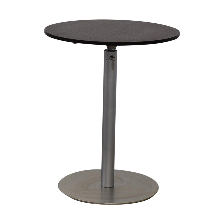 shop Amtrend Corporation Adjustable High Top Table Amtrend Corporation Accent Tables