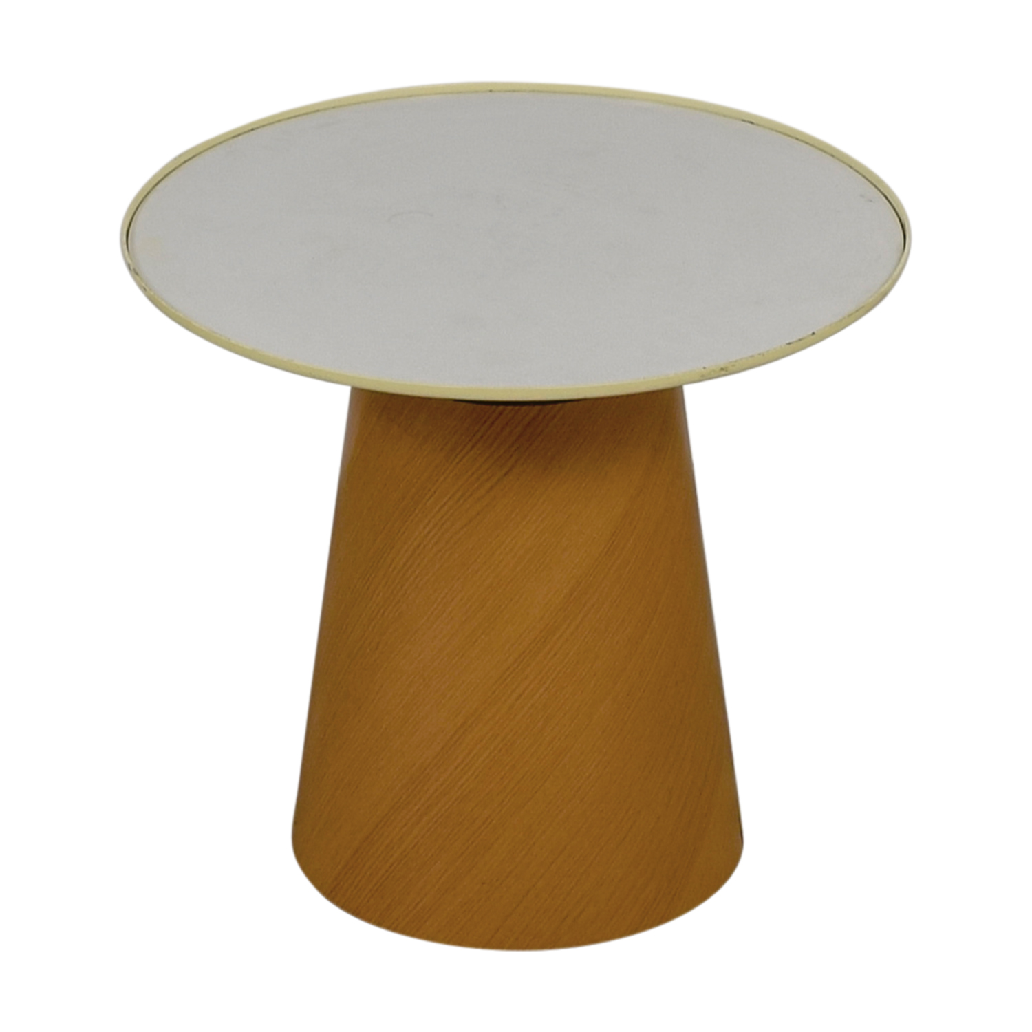 buy Steelcase Turnstone Steelcase Turnstone Campfire Paper Table in Warm Oak online