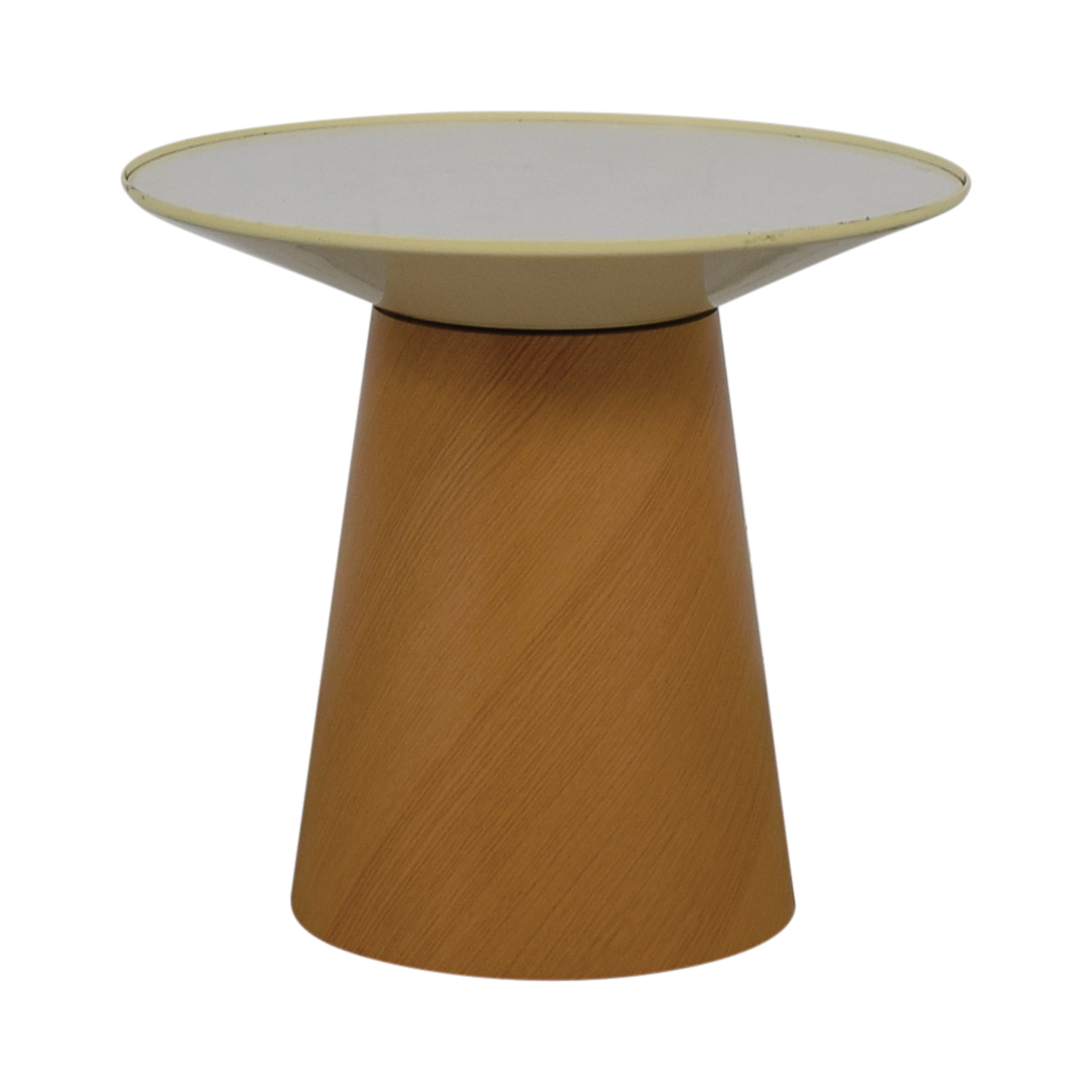 Steelcase Turnstone Steelcase Turnstone Campfire Paper Table in Warm Oak