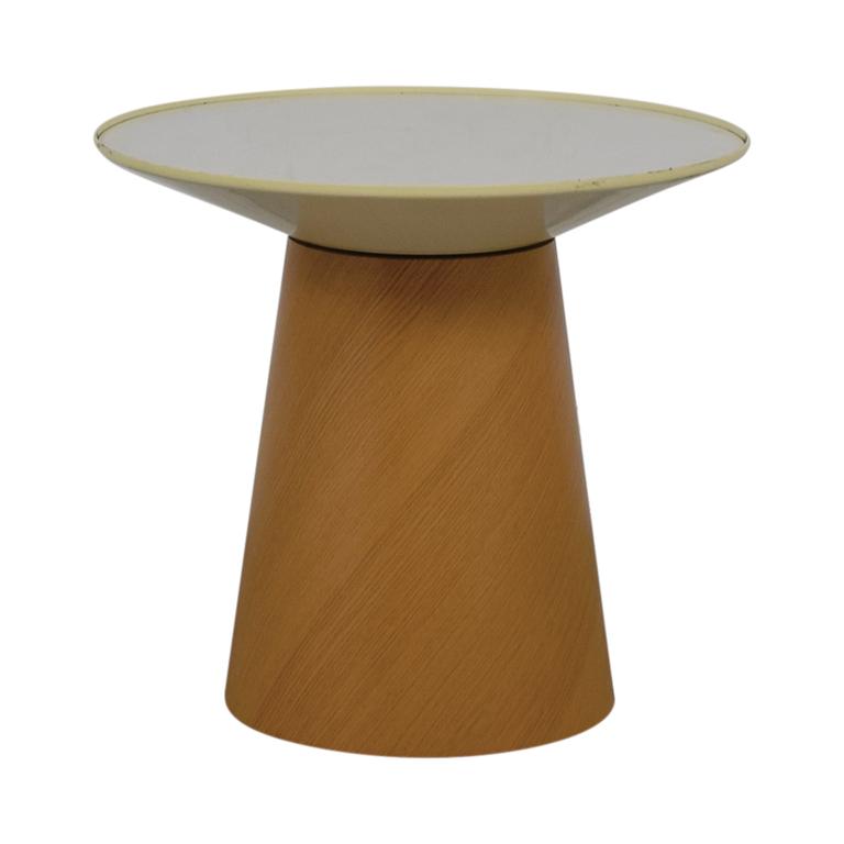 Steelcase Turnstone Steelcase Turnstone Campfire Paper Table in Warm Oak for sale