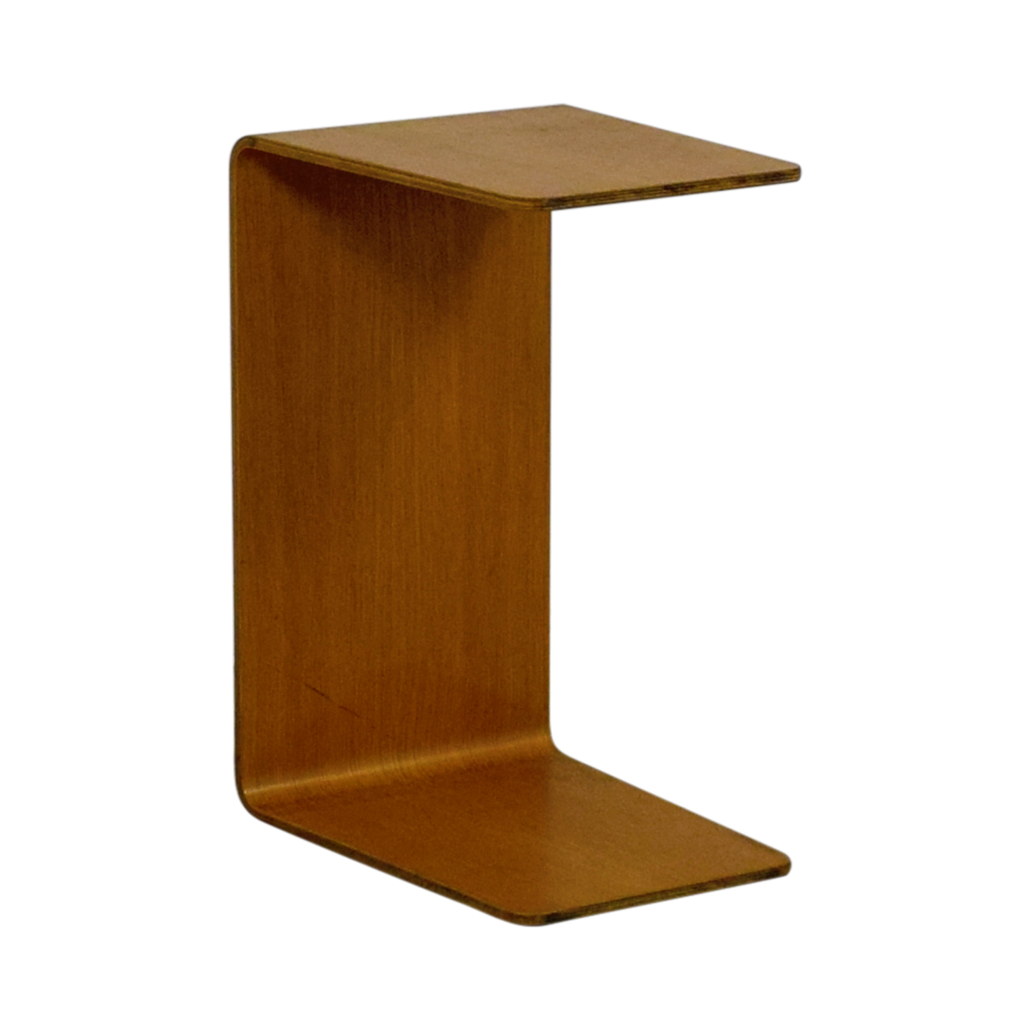 shop Steelcase Turnstone C-Shaped Wood Table Steelcase Turnstone End Tables