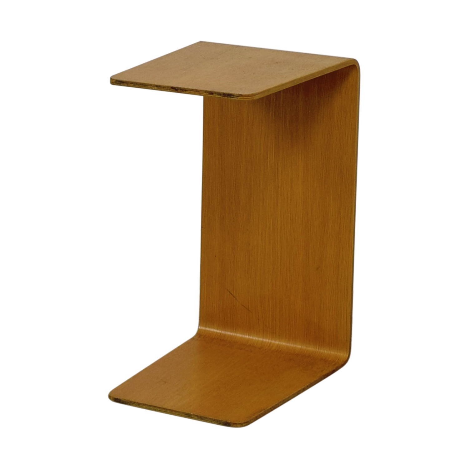 shop Steelcase Turnstone C-Shaped Wood Table Steelcase Turnstone