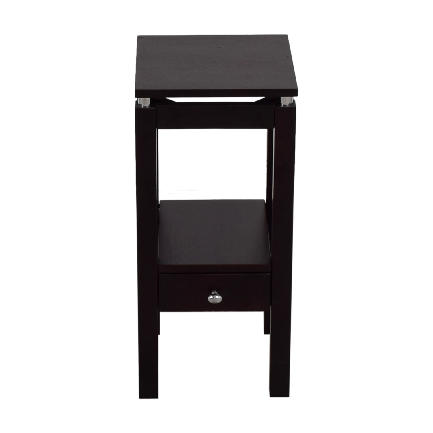Single Drawer Nightstand End Tables