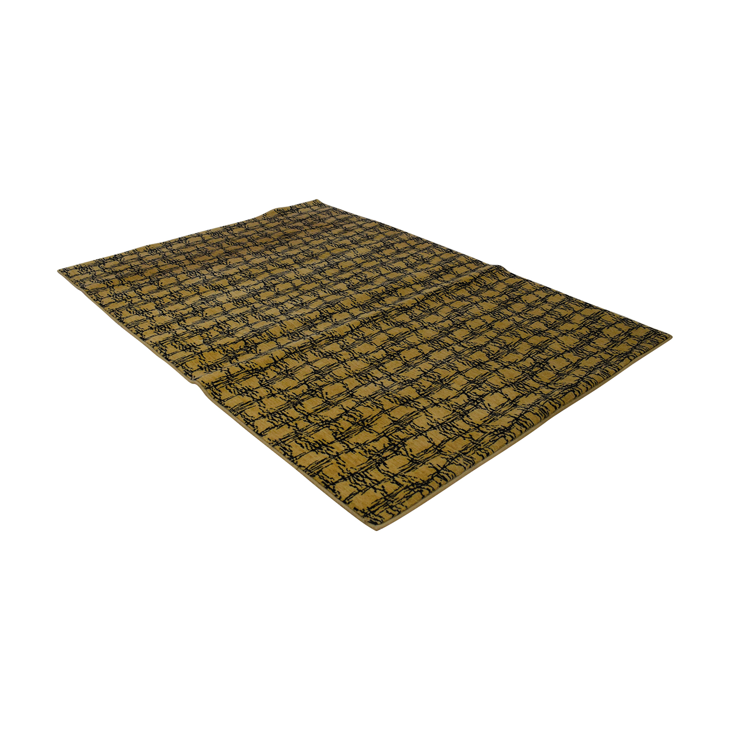 buy Masland Black and Beige Rug Masland