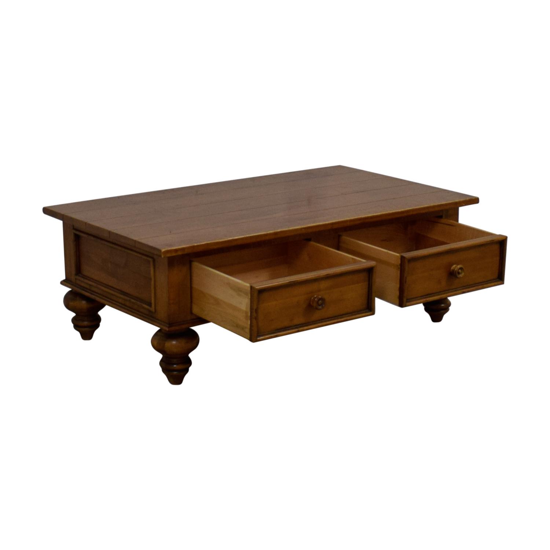Ethan Allen Ethan Allen Coffee Table brown