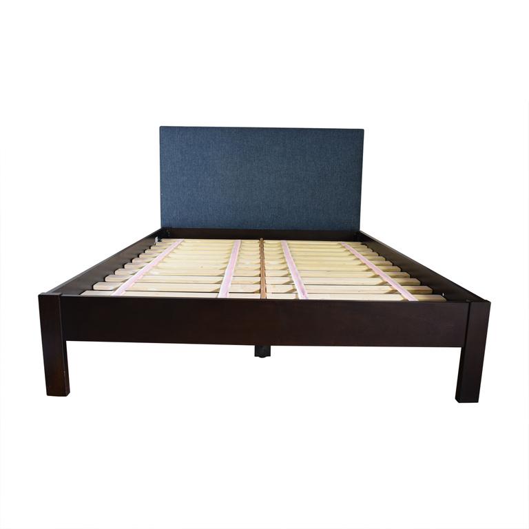 West Elm West Elm Blue Platform Full Bed Frame price