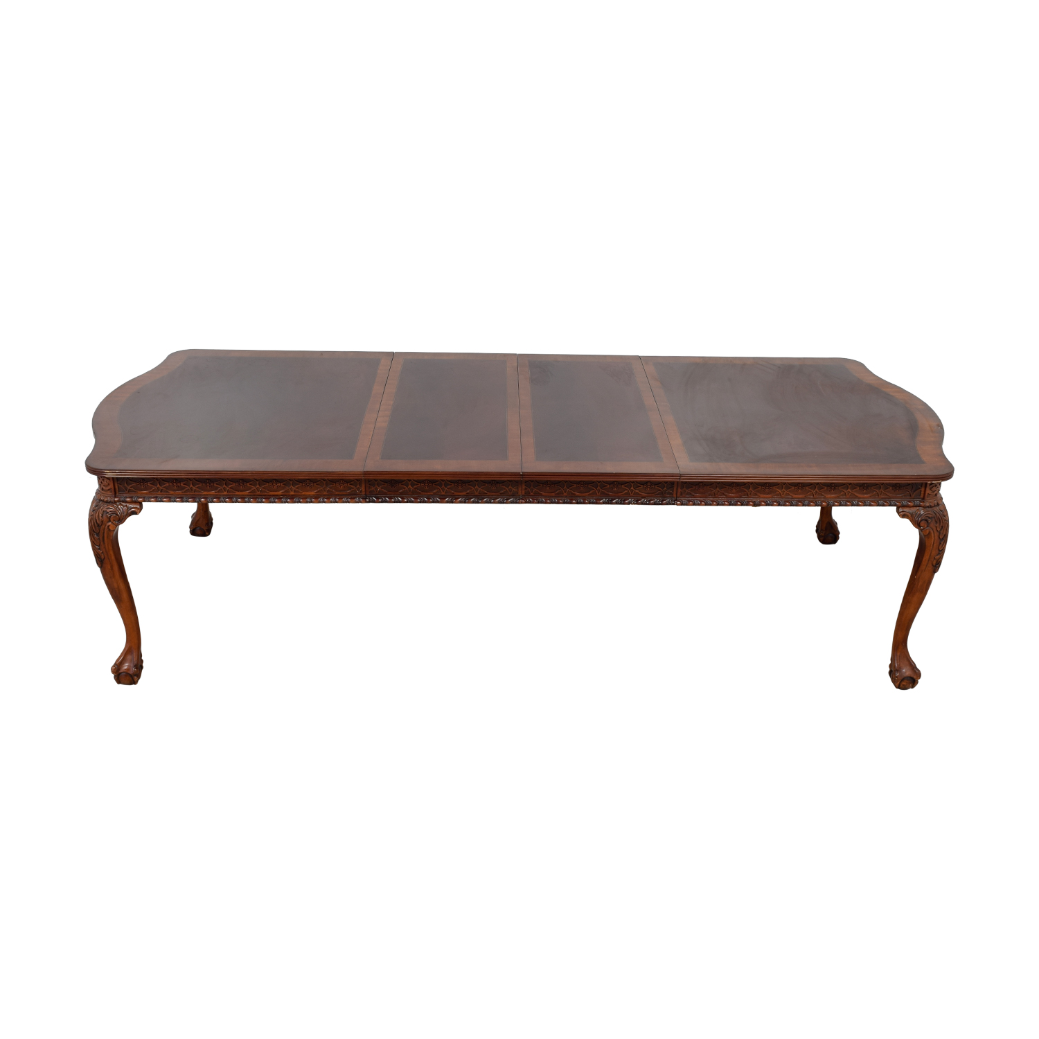 Carved Extendable Dining Table sale