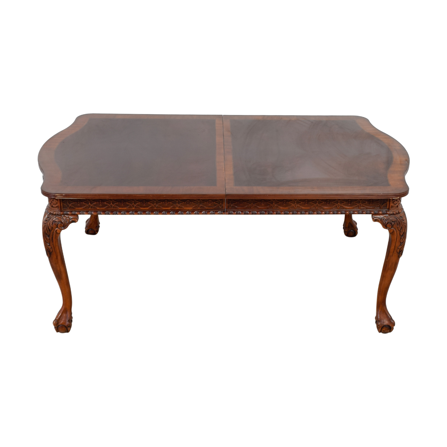 Carved Extendable Dining Table / Tables