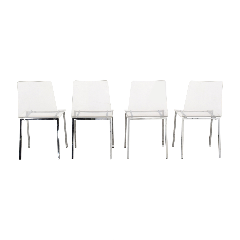 CB2 Vapor Chairs sale