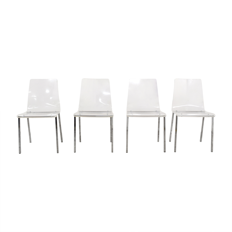 CB2 CB2 Vapor Chairs used