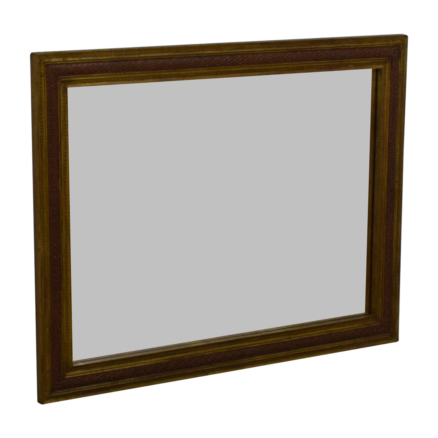 Antique Gold Framed Mirror discount