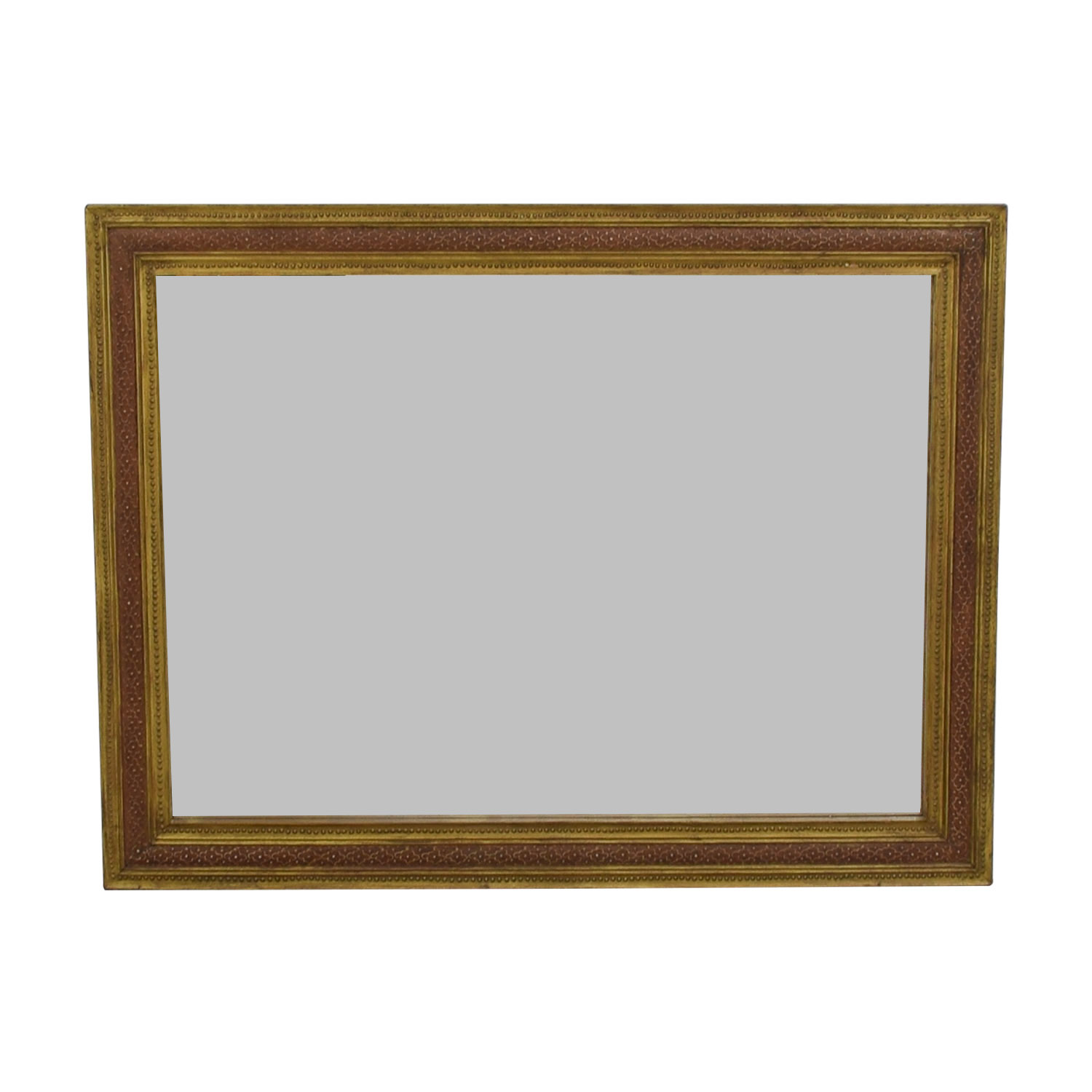 Antique Gold Framed Mirror on sale