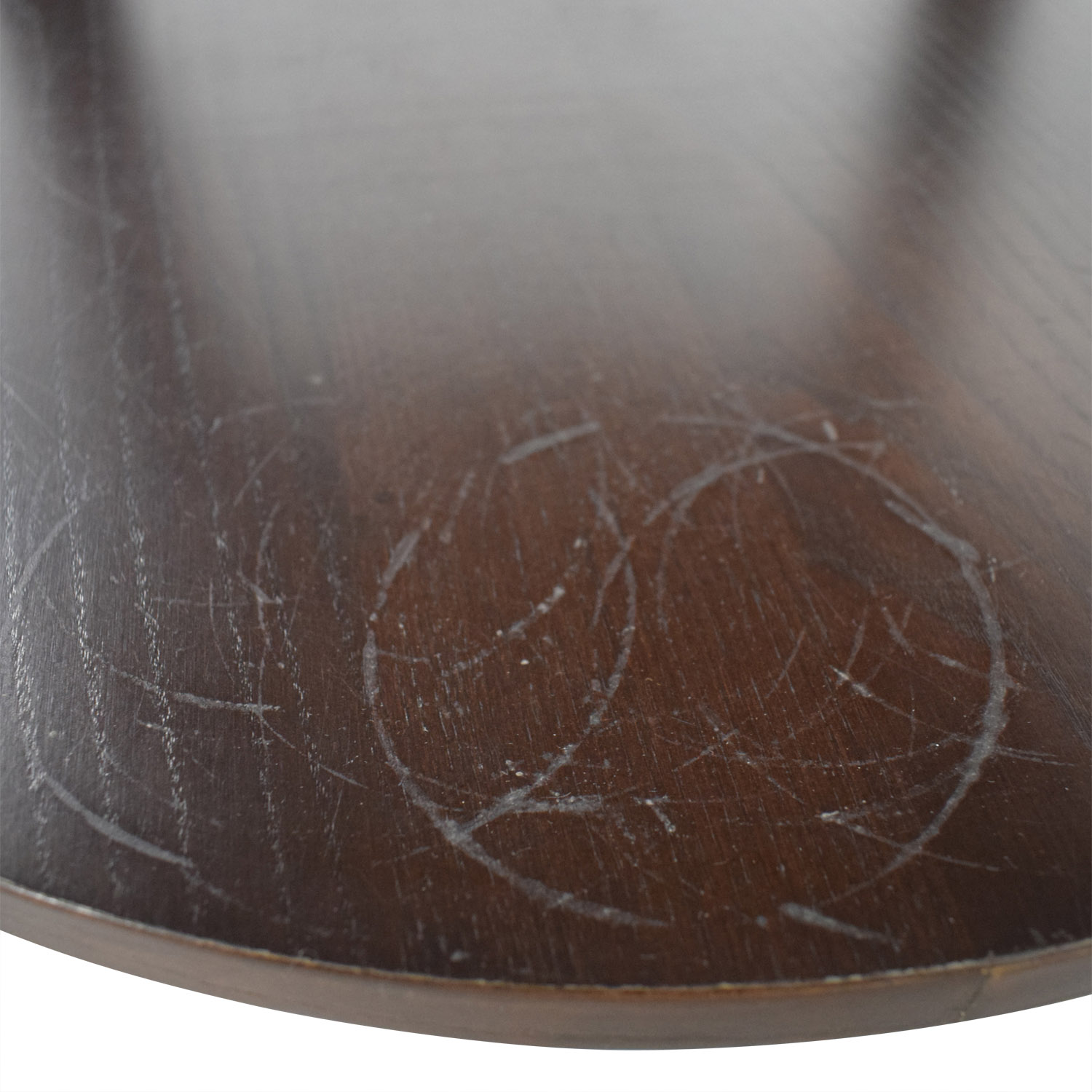 Ethan Allen Round Wood Accent Table sale