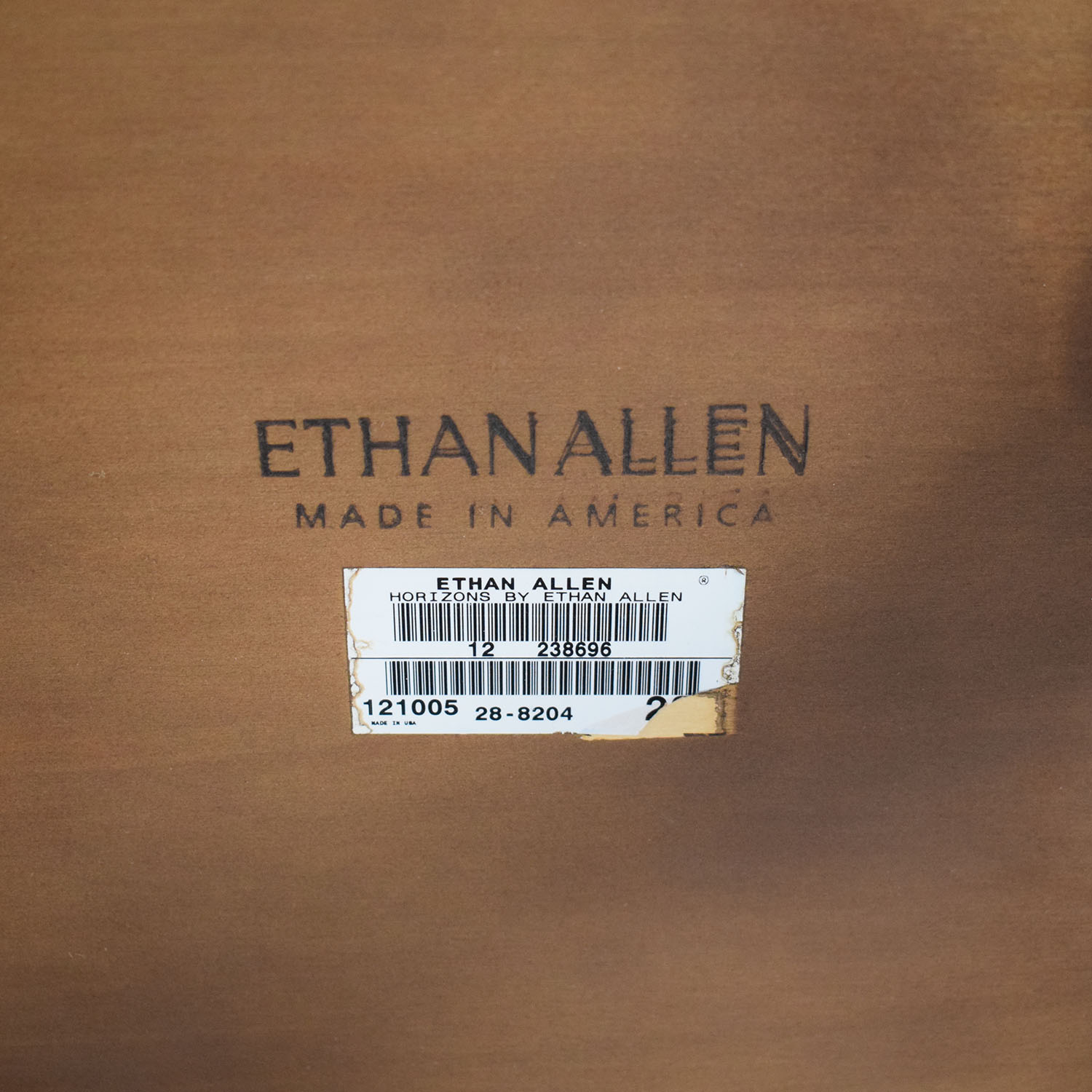 Ethan Allen Ethan Allen Round Wood Accent Table End Tables