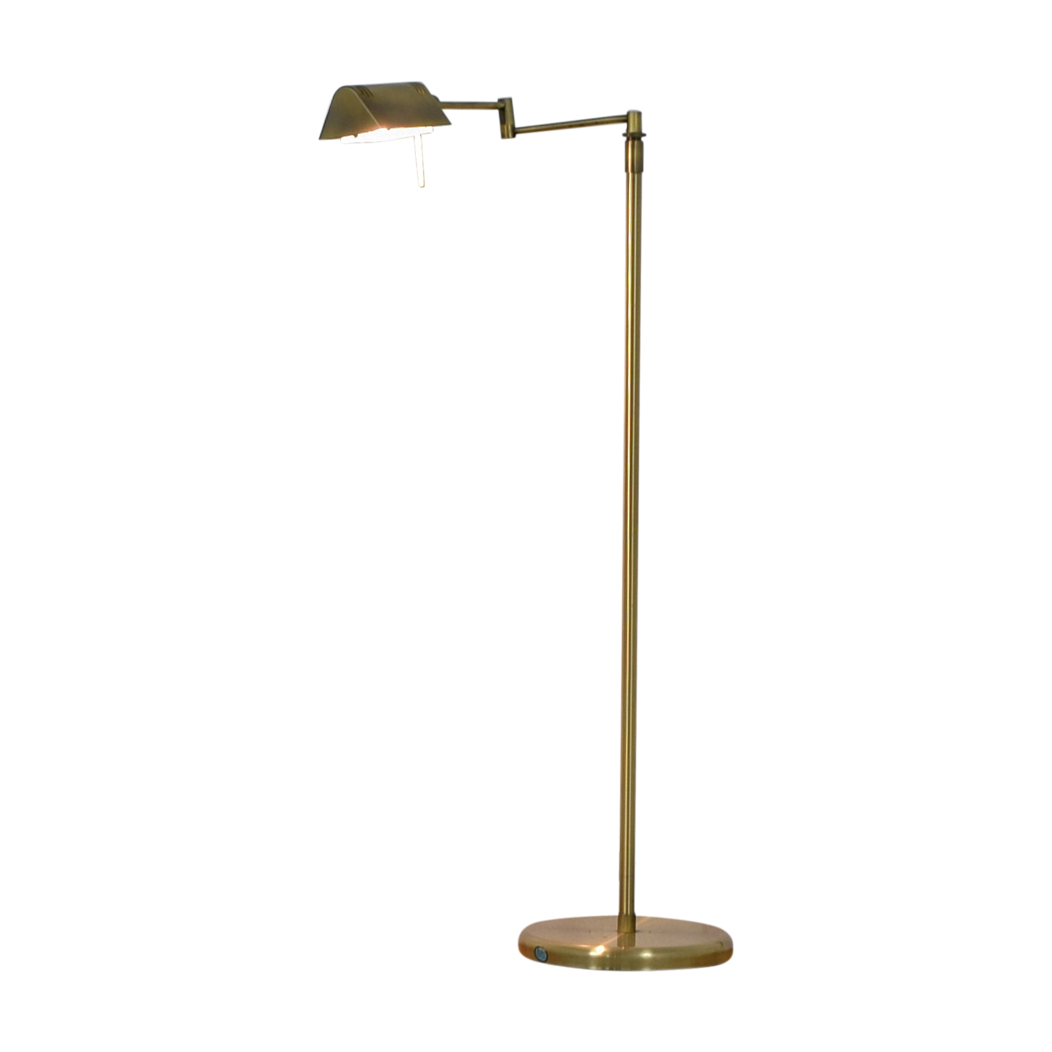 Marwill Lighting Collection Marwill Lighting Collection Antique Brass Swivel Floor Lamp for sale