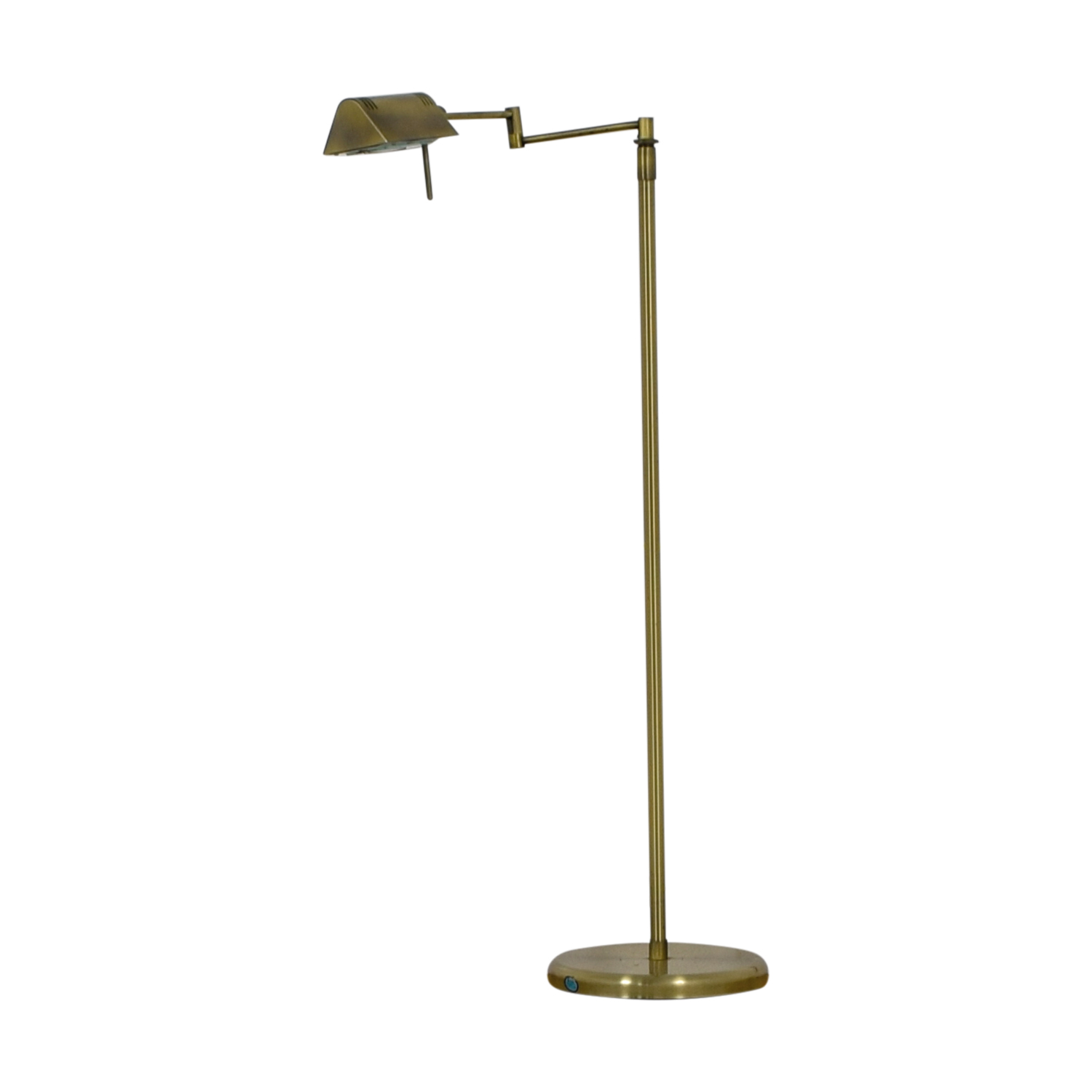 Marwill Lighting Collection Marwill Lighting Collection Antique Brass Swivel Floor Lamp nj