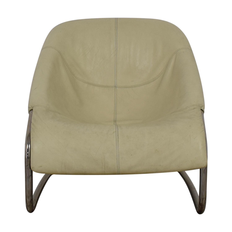 buy Minotti White Cortina Side Chair Minotti Accent Chairs