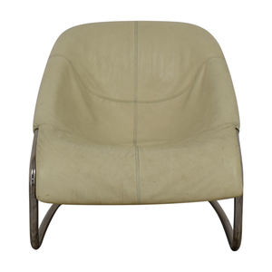 Minotti Minotti White Cortina Side Chair for sale