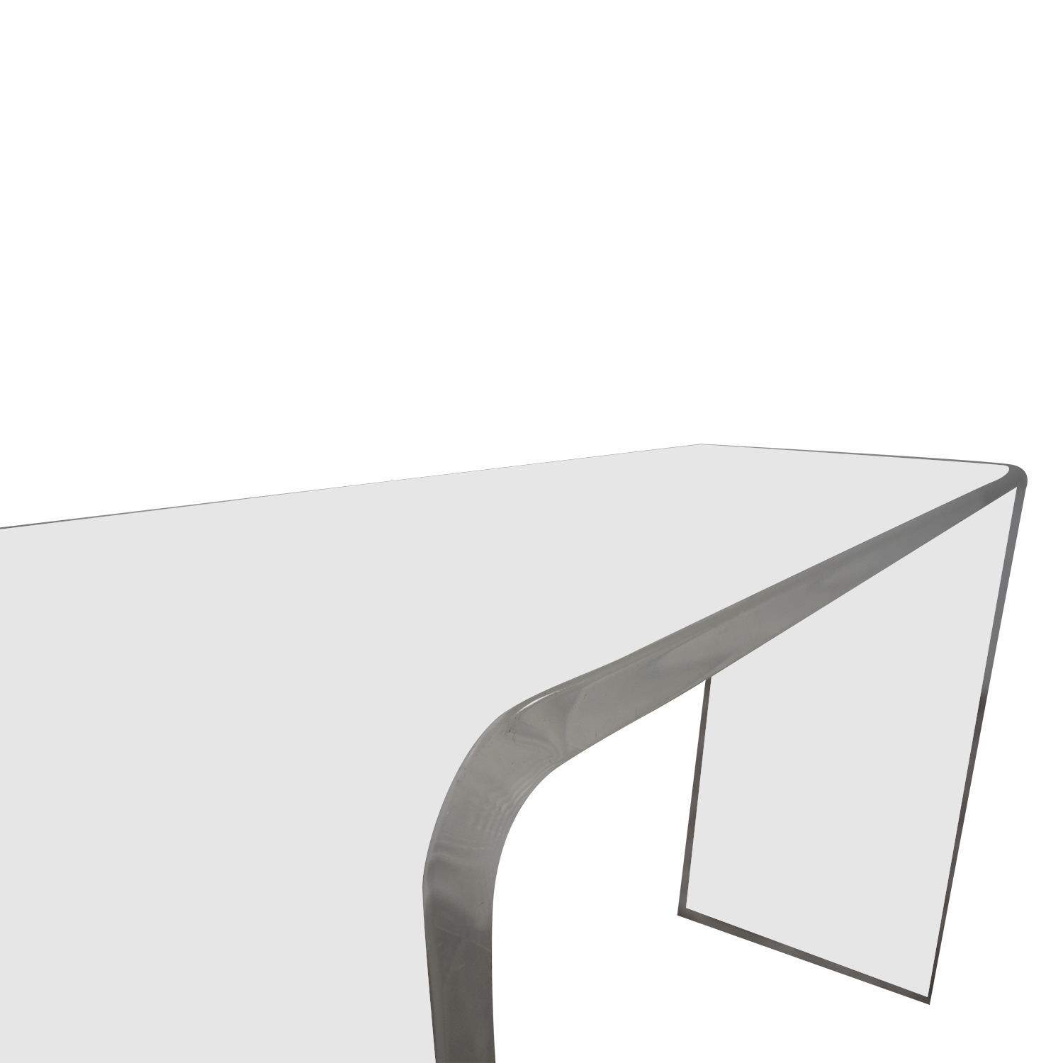 Outstanding 59 Off Cb2 Cb2 Peekaboo Acrylic Console Table Tables Spiritservingveterans Wood Chair Design Ideas Spiritservingveteransorg