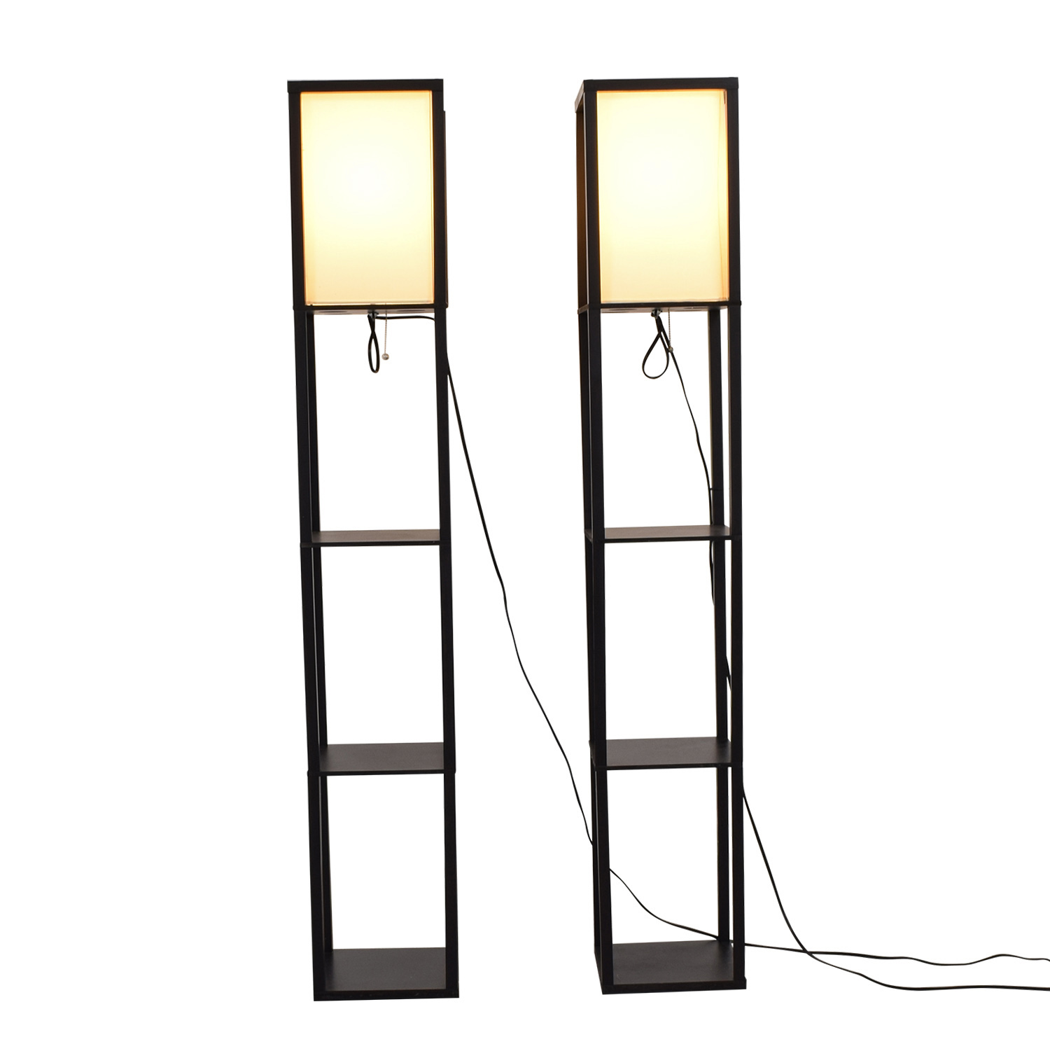 shop Black Caged Standing Lamps