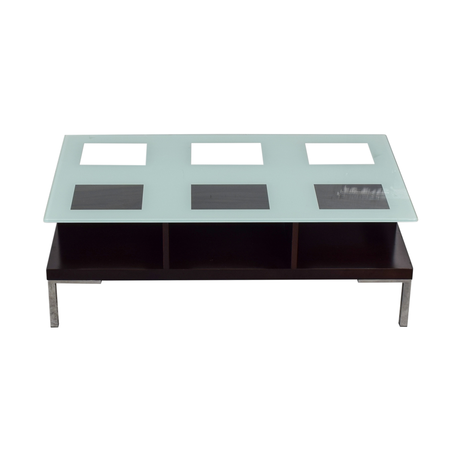 Glass Rectangle Coffee Table nyc