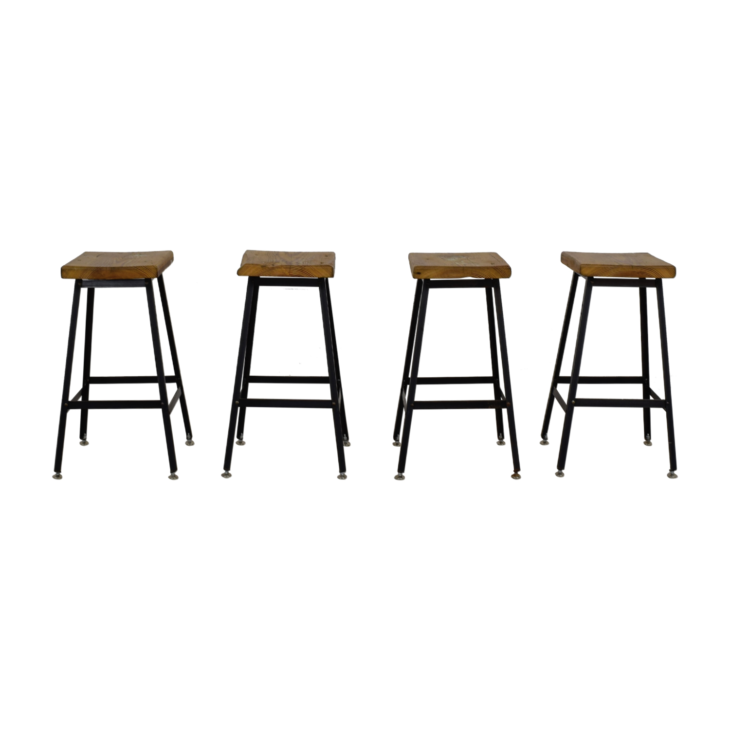 shop Urban Wood Goods Reclaimed Wood Bar Stools Urban Wood Goods