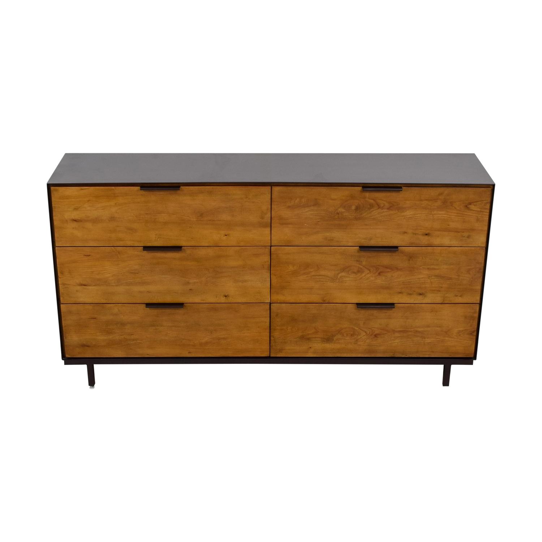 Magnussen Six-Drawer Rustic Dresser sale