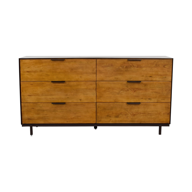 Magnussen Home Magnussen Six-Drawer Rustic Dresser