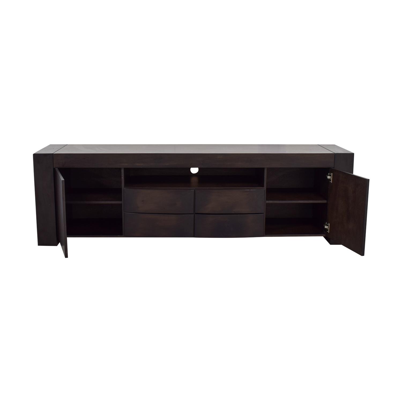 buy Wood TV Media Stand