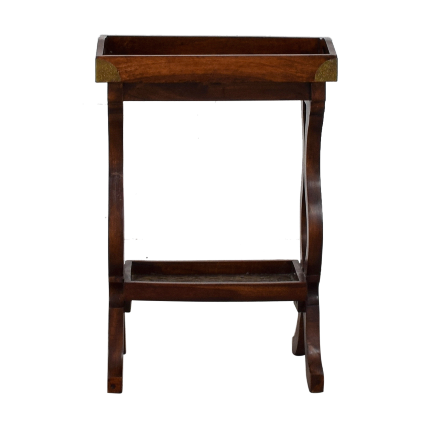 Pottery Barn Pottery Barn Wood Side Table discount