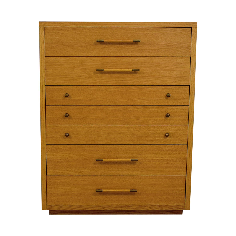 Stanley Stanley Wood Seven-Drawer Dresser second hand