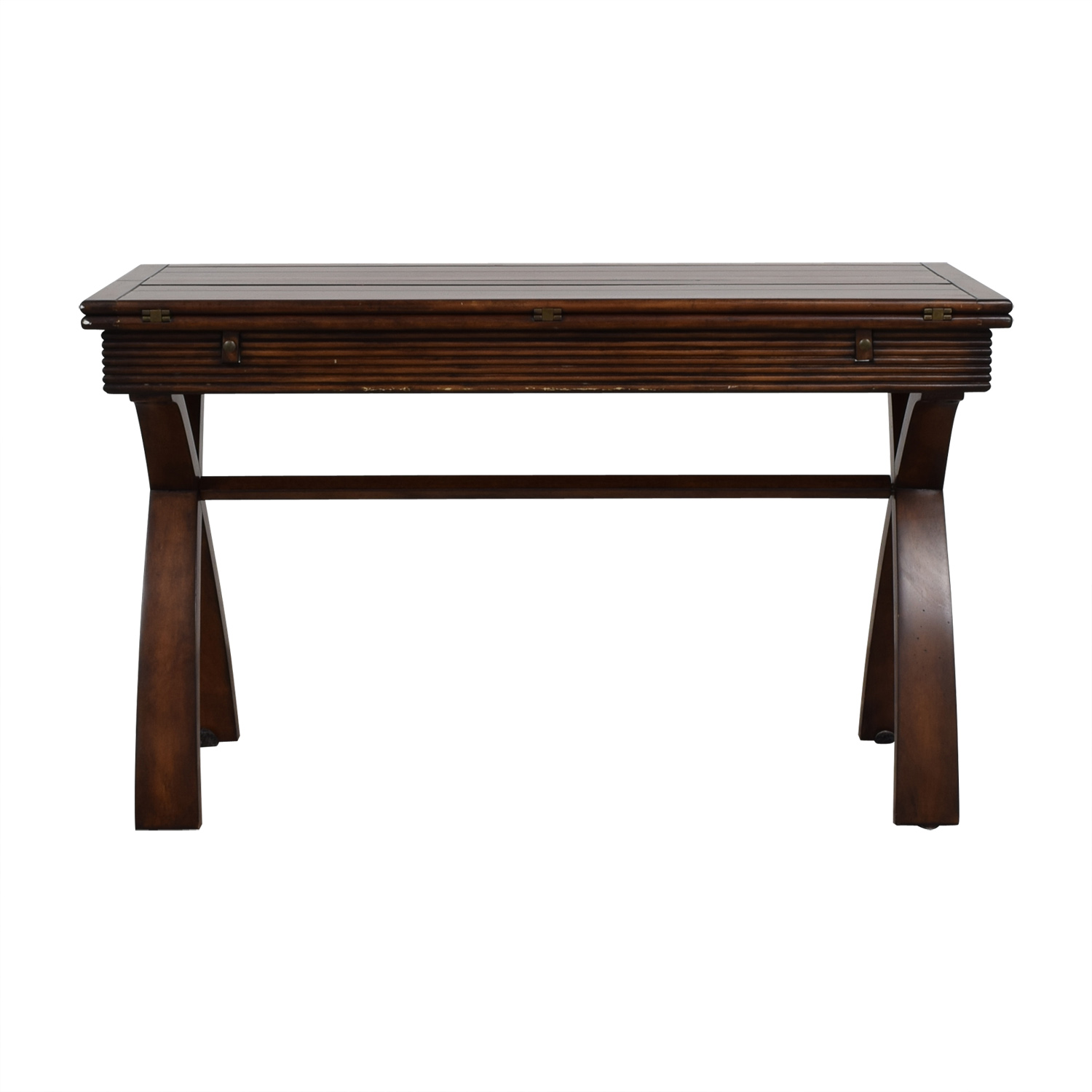 Extendable Wood Sofa Table dimensions