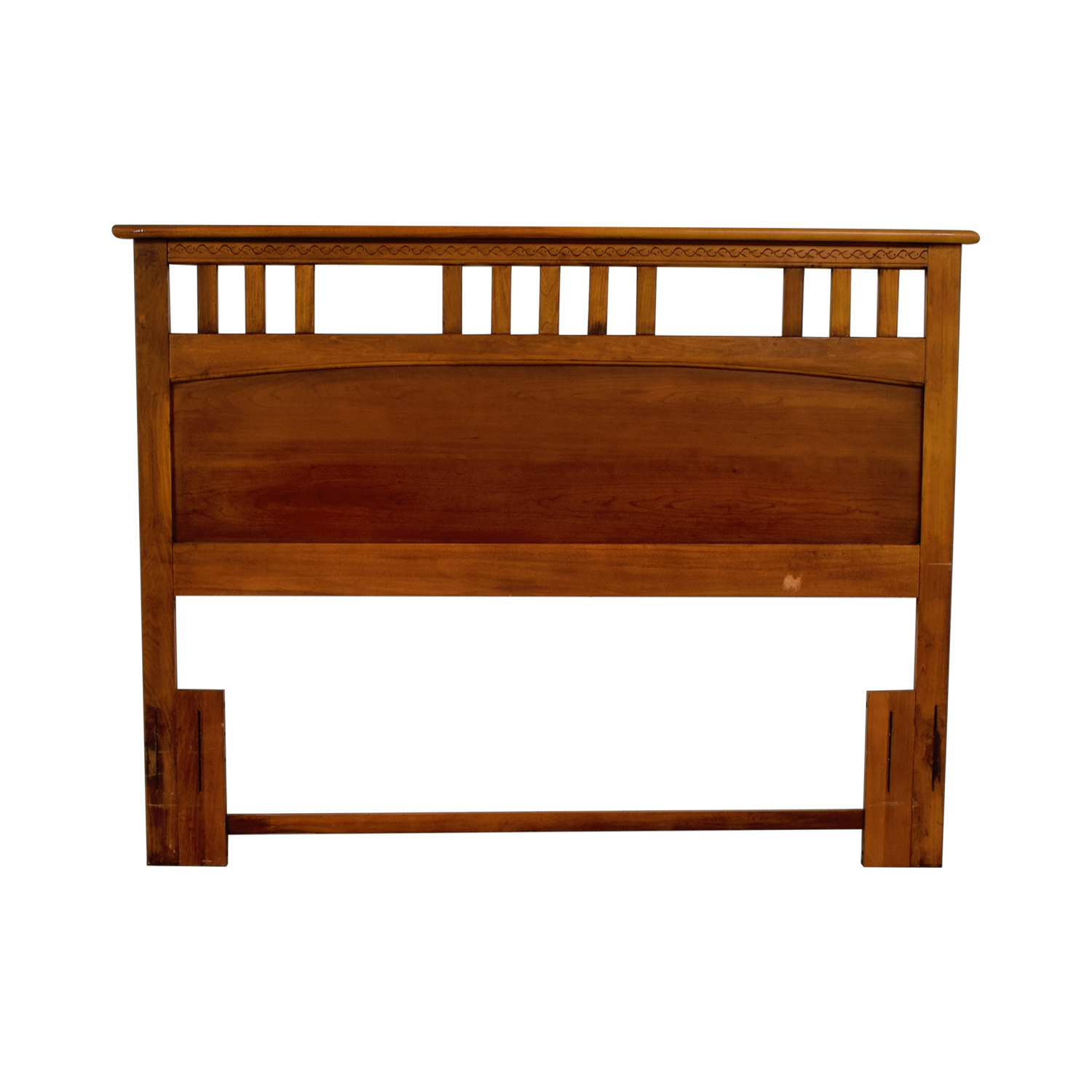 Vaughan Furniture Company Vaughan Furniture Company Wooden Queen Headboard second hand