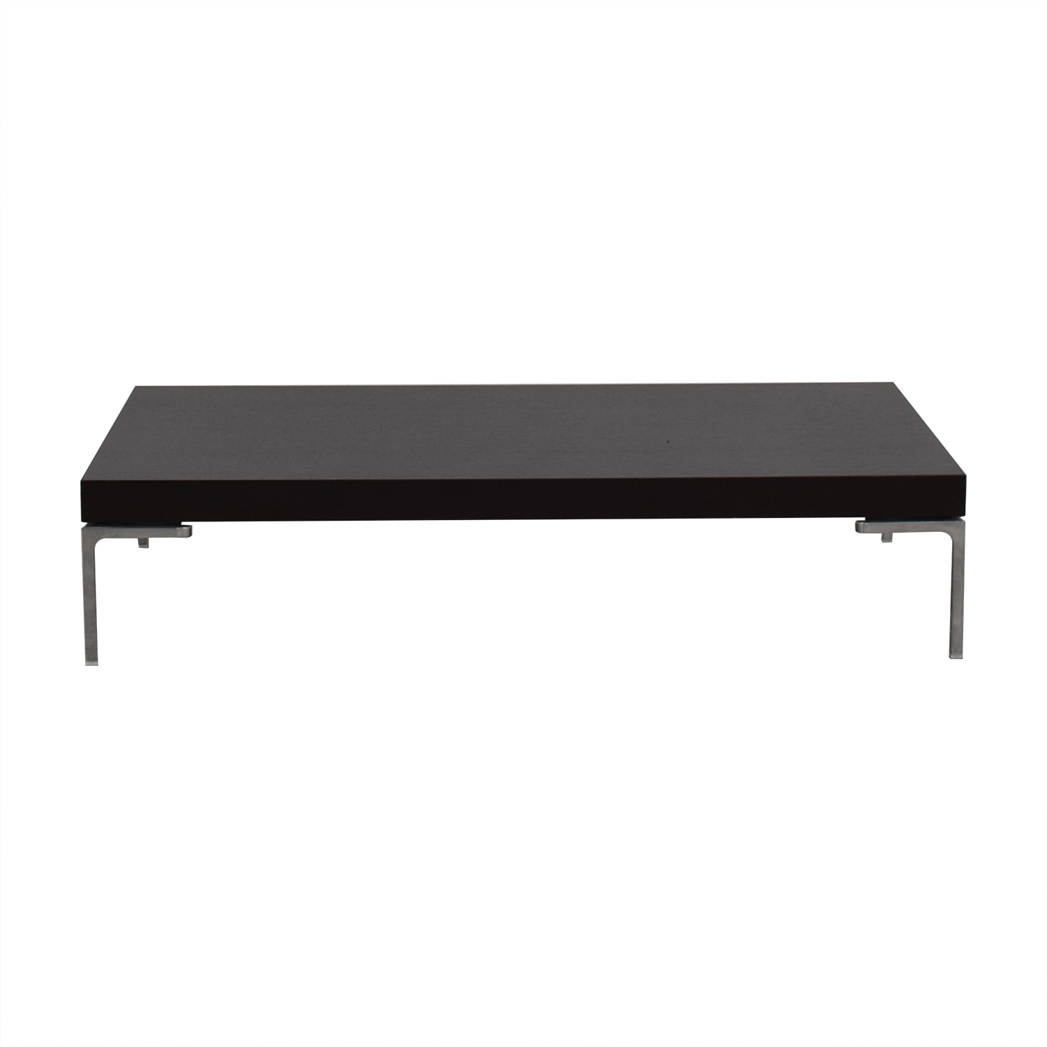 B&B Italia Dark Oak Coffee Table / Tables