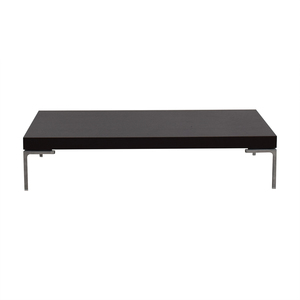 shop B&B Italia Dark Oak Coffee Table B&B Italia