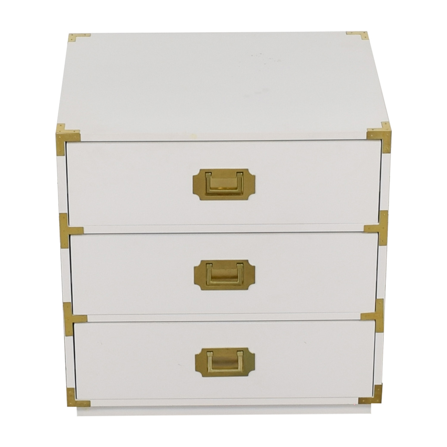 Wayfair Wayfair White Three-Drawer Night Stand price