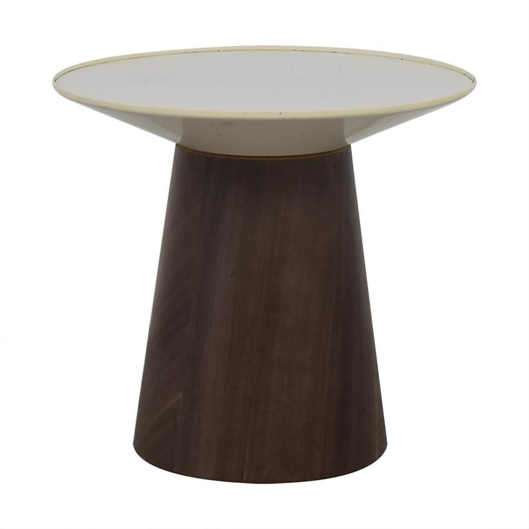 buy Steelcase Turnstone Campfire Round Paper Table Steelcase Turnstone Tables